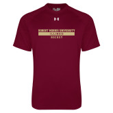 Under Armour Maroon Tech Tee-Hockey