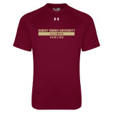 Under Armour Maroon Tech Tee-Bowling