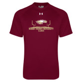 Under Armour Maroon Tech Tee-Football