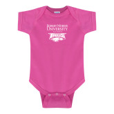 XXX Fuchsia Infant Onesie-Primary Mark