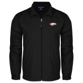 XXX Full Zip Black Wind Jacket-Eagle Head