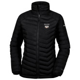 XXX Columbia Powder Lite Ladies Black Jacket-Primary Mark