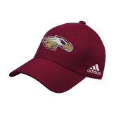 XXX Adidas Maroon Structured Adjustable Hat-Eagle Head