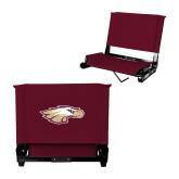 Stadium Chair Maroon-Eagle Head