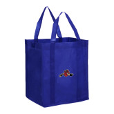Non Woven Royal Grocery Tote-Hammy w/ Hockey Stick