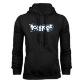 Black Fleece Hoodie-IceHogs Wordmark