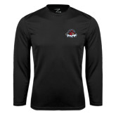 Performance Black Longsleeve Shirt-Primary Mark