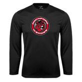 Performance Black Longsleeve Shirt-Badge