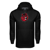 Under Armour Black Performance Sweats Team Hoodie-Hammy Head