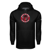 Under Armour Black Performance Sweats Team Hood-Badge
