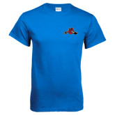 Royal Blue T Shirt-Hammy w/ Hockey Stick