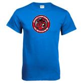 Royal Blue T Shirt-Badge