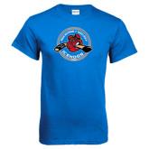 Royal Blue T Shirt-Fancy Puck