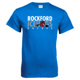 Royal T Shirt-Ice Distressed