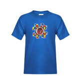 Youth Royal T Shirt-Autism Puzzle Piece