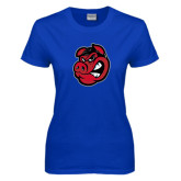 Ladies Royal T Shirt-Hammy Head
