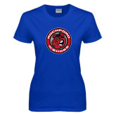 Ladies Royal T Shirt-Badge