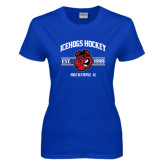 Ladies Royal T Shirt-Arched Est Year