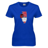 Ladies Royal T Shirt-State Stacked