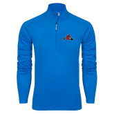 Syntrel Royal Blue Interlock 1/4 Zip-Hammy w/ Hockey Stick