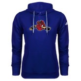 Adidas Climawarm Royal Team Issue Hoodie-Hammy w/ Hockey Stick