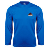 Performance Royal Longsleeve Shirt-Primary Mark