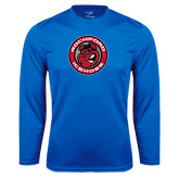 Performance Royal Longsleeve Shirt-Badge