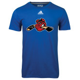 Adidas Climalite Royal Ultimate Performance Tee-Hammy w/ Hockey Stick
