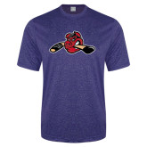 Performance Royal Heather Contender Tee-Hammy w/ Hockey Stick