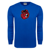 Royal Long Sleeve T Shirt-Hammy Head