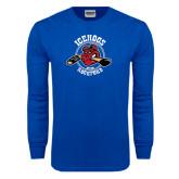 Royal Long Sleeve T Shirt-Circle Design