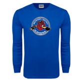 Royal Long Sleeve T Shirt-Fancy Puck