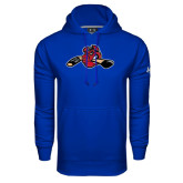 Under Armour Royal Performance Sweats Team Hood-Hammy w/ Hockey Stick