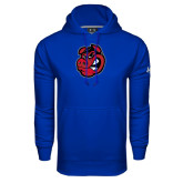 Under Armour Royal Performance Sweats Team Hoodie-Hammy Head