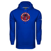 Under Armour Royal Performance Sweats Team Hoodie-Badge