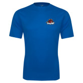 Performance Royal Tee-Primary Mark