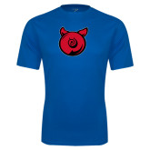Performance Royal Tee-Pig Butt Logo