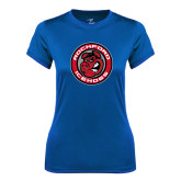 Ladies Syntrel Performance Royal Tee-Badge