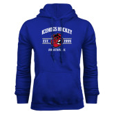 Royal Fleece Hoodie-Arched Est Year