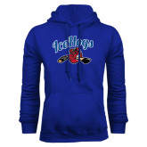 Royal Fleece Hoodie-Scripted IceHogs