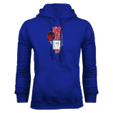 Royal Fleece Hoodie-State Stacked