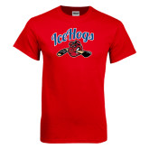 Red T Shirt-Scripted IceHogs