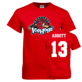 Red T Shirt-Primary Mark, Tee w/ Abbott and #13