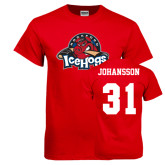 Red T Shirt-Primary Mark, Tee w/ Johansson and #31