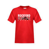 Youth Red T Shirt-Ice Distressed