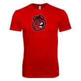 Next Level SoftStyle Red T Shirt-Hammy Head