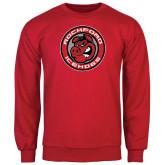 Red Fleece Crew-Badge
