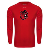 Under Armour Red Long Sleeve Tech Tee-Hammy Head