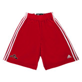 Adidas Climalite Red Practice Short-Hammy w/ Hockey Stick