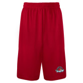 Syntrel Performance Red 9 Inch Length Shorts-Primary Mark